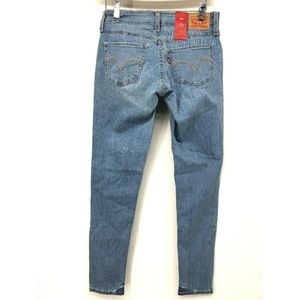 NWT Levis Womens Jeans 535 Super Skinny 6 Short 28
